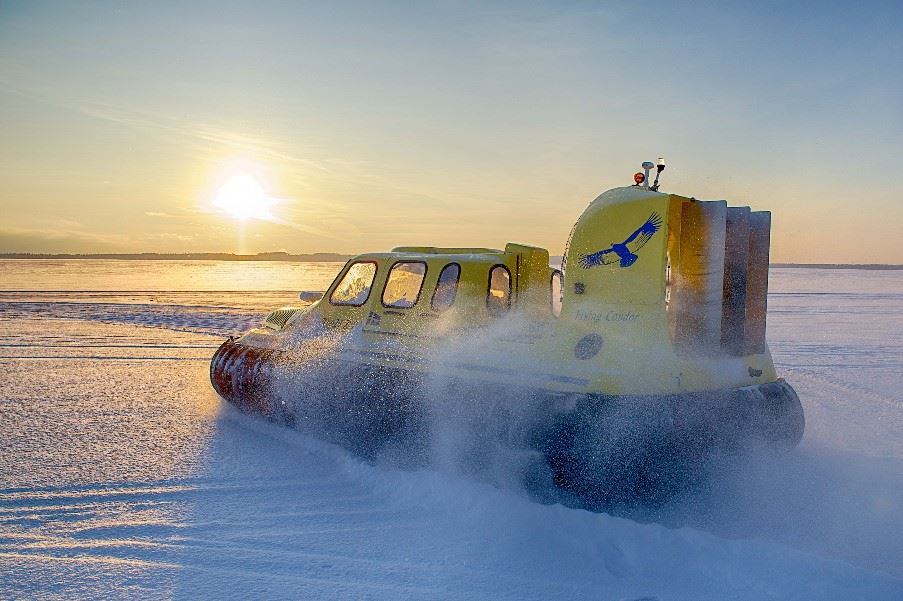 Hovercraft, Swedish Lapland