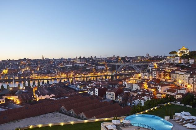 View from The Yeatman, Porto, Northern Portugal