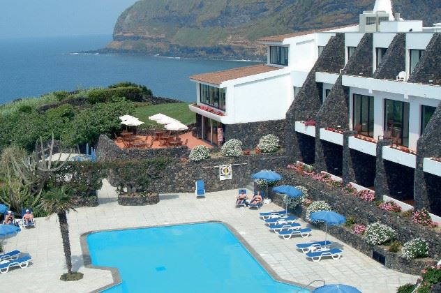 Swimming pool, Caloura Hotel, Caloura, Sao Miguel, the Azores