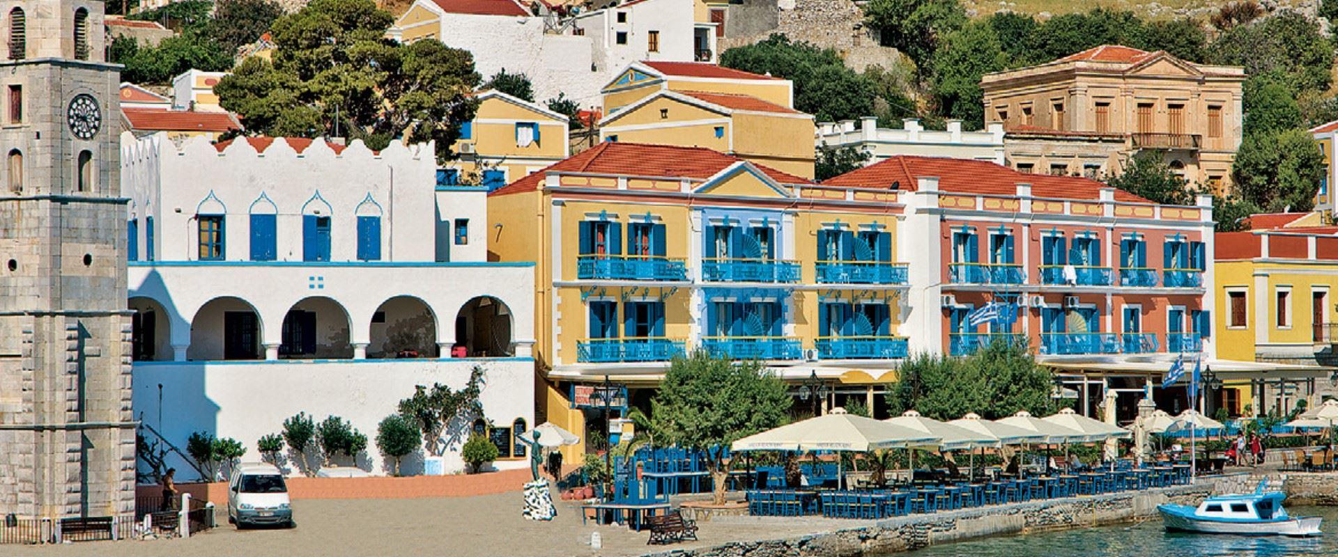 Nireus Hotel, Symi, Dodecanese Islands | Sunvil.co.uk