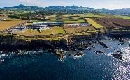Aerial view, Pedras Do Mar Resort and Spa, Sao Miguel, Azores
