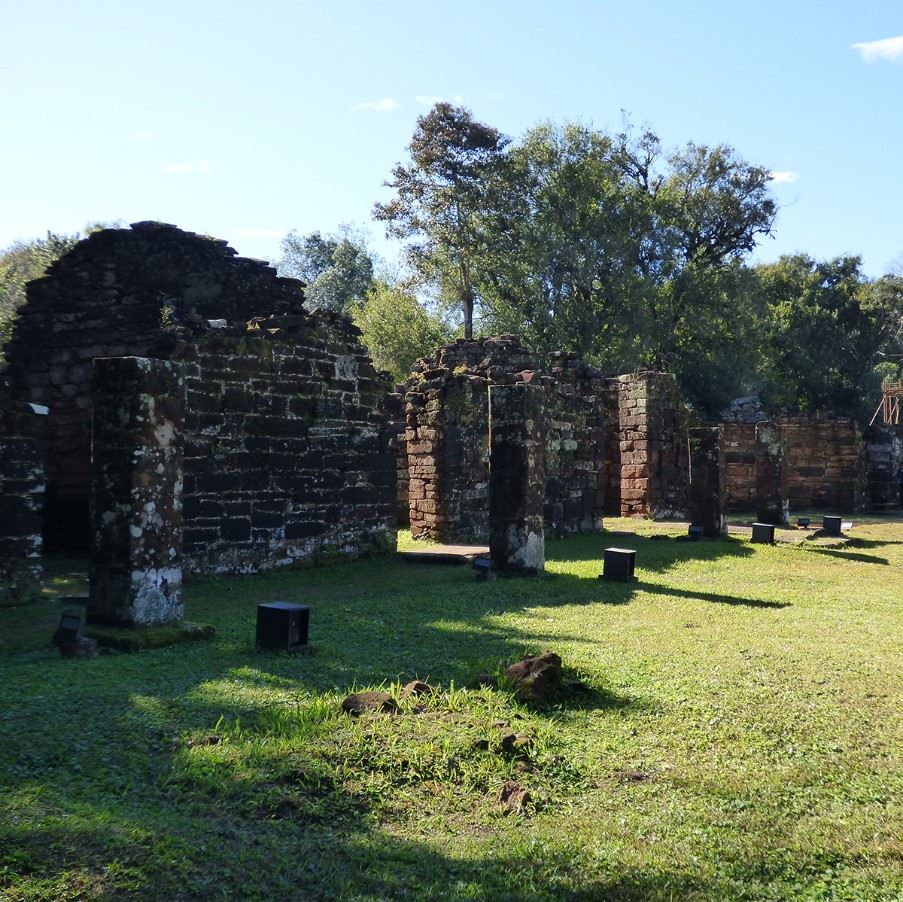 Ruins of San Ignacio Mini