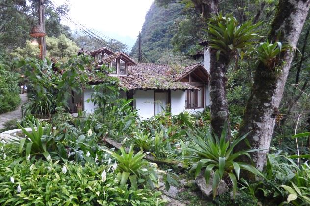 View of Andean style rooms, Inkaterra Machu Picchu Pueblo