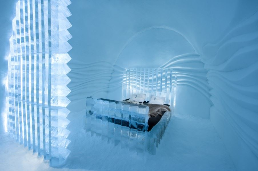 Eye Suite, ICEHOTEL by Nicolas Triboulot and Cedric Alizard