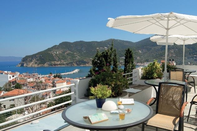 Thea Home Apartments, Skopelos Town