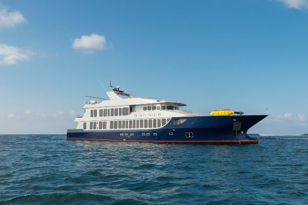 MV Origin, The Galapagos Islands