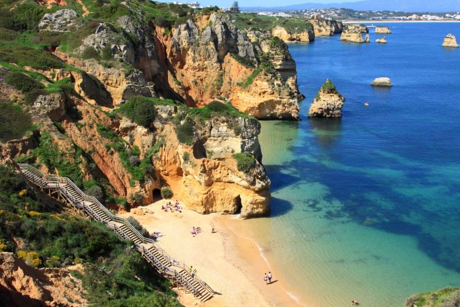 Ponte de Piedade, The Algarve