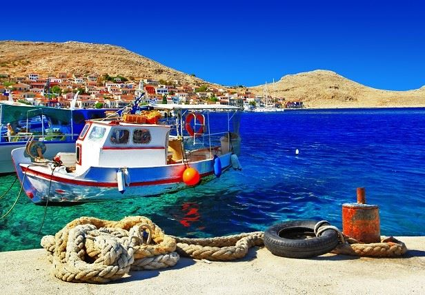 Halki, Dodecanese islands, Greece